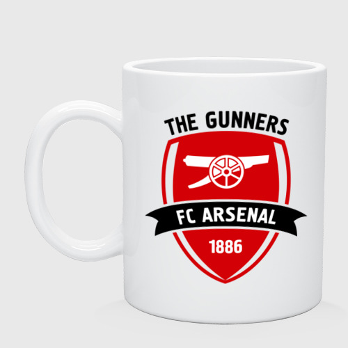 Кружка керамическая FC Arsenal - The Gunners