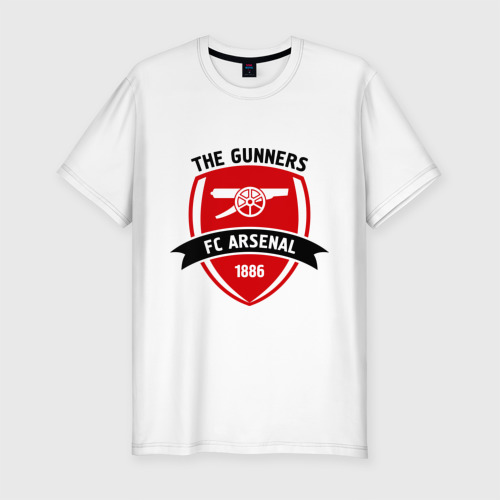 Мужская футболка хлопок Slim FC Arsenal - The Gunners