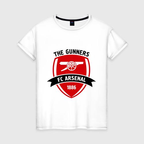 Женская футболка хлопок FC Arsenal - The Gunners