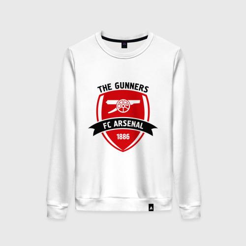 Женский свитшот хлопок FC Arsenal - The Gunners