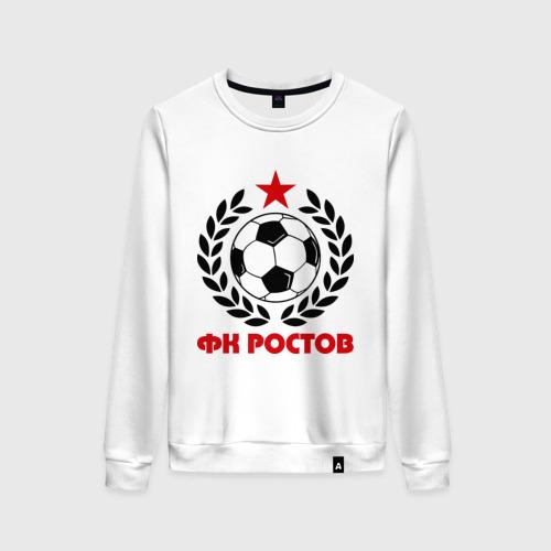 Женский свитшот хлопок ФК Ростов