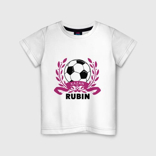 Детская футболка хлопок ФК Рубин