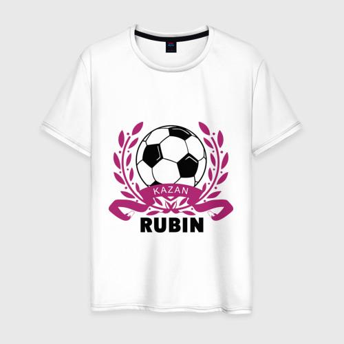 Мужская футболка хлопок ФК Рубин
