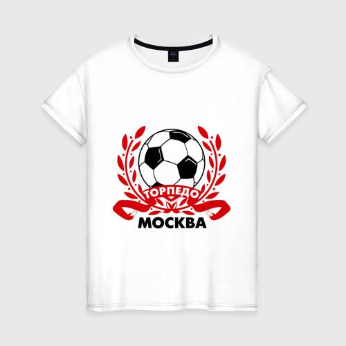 Женская футболка хлопок Торпедо
