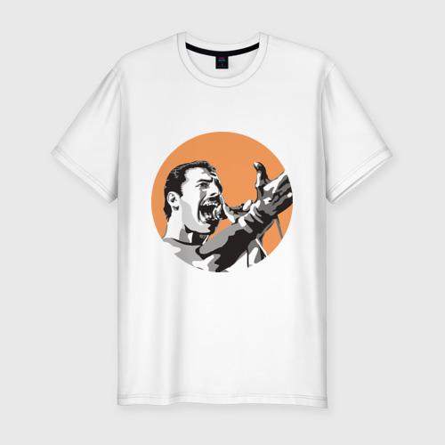 Мужская футболка хлопок Slim Show must go on