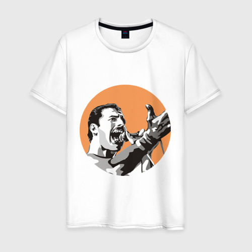 Мужская футболка хлопок Show must go on