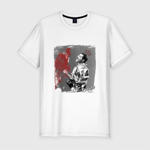 Мужская футболка хлопок Slim Фредди