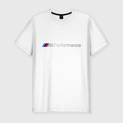 Мужская футболка хлопок Slim BMW Performance