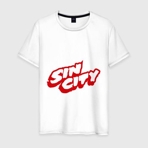 Мужская футболка хлопок Sin City