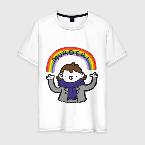 Мужская футболка хлопок Шерлок