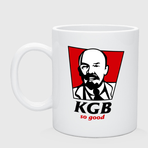 Кружка керамическая KGB - So Good
