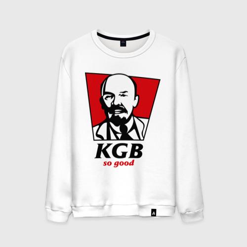 Мужской свитшот хлопок KGB - So Good
