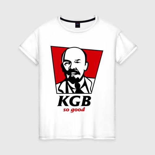 Женская футболка хлопок KGB - So Good