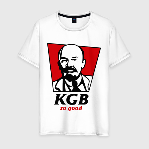 Мужская футболка хлопок KGB - So Good