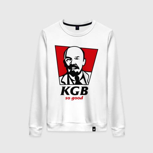 Женский свитшот хлопок KGB - So Good