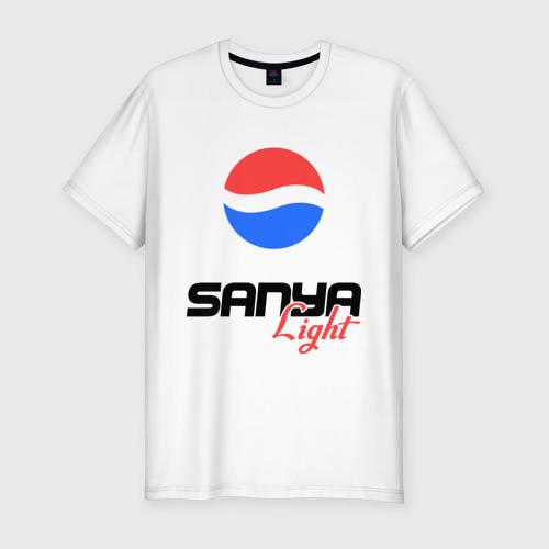 Мужская футболка хлопок Slim Саня Лайт