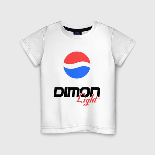 Детская футболка хлопок Дима Лайт