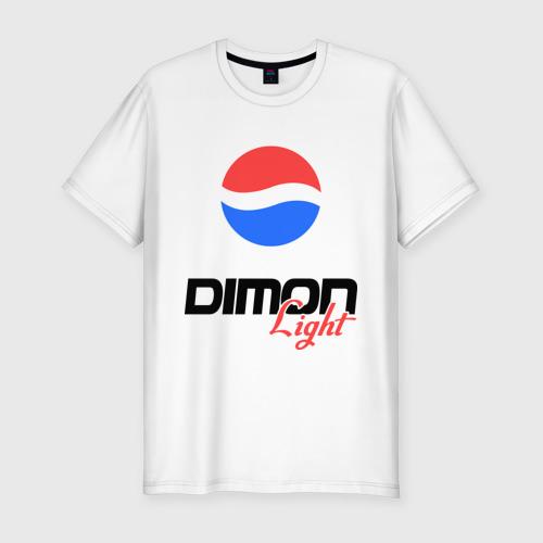 Мужская футболка хлопок Slim Дима Лайт