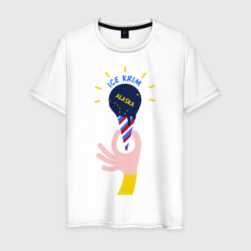 Мужская футболка хлопок Ice Krim