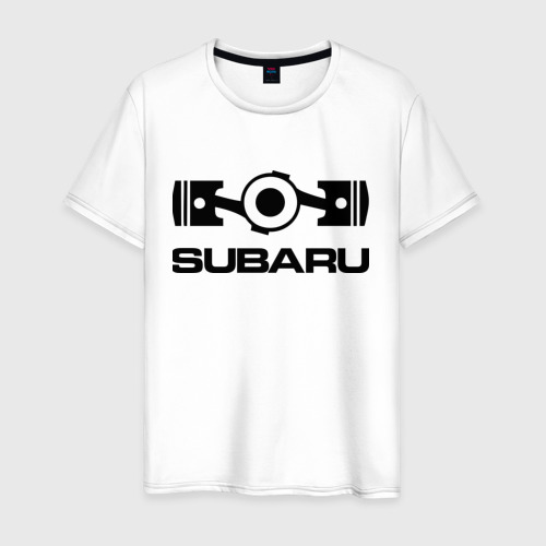 Мужская футболка хлопок Subaru
