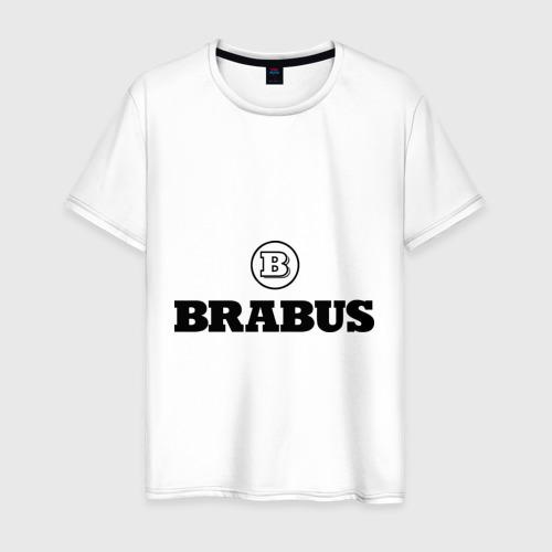 Мужская футболка хлопок Brabus