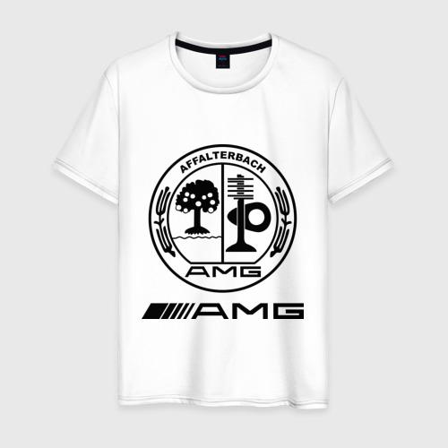 Мужская футболка хлопок AMG
