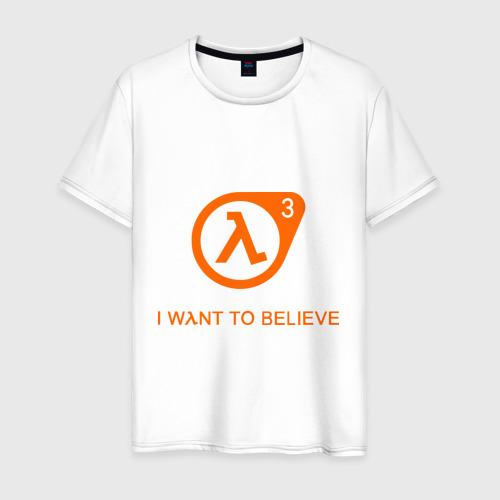 Мужская футболка хлопок Half-Life 3 (4)