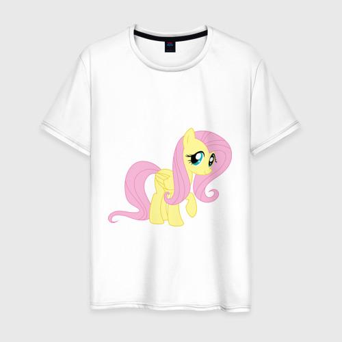 Мужская футболка хлопок Пони пегас Флаттершай