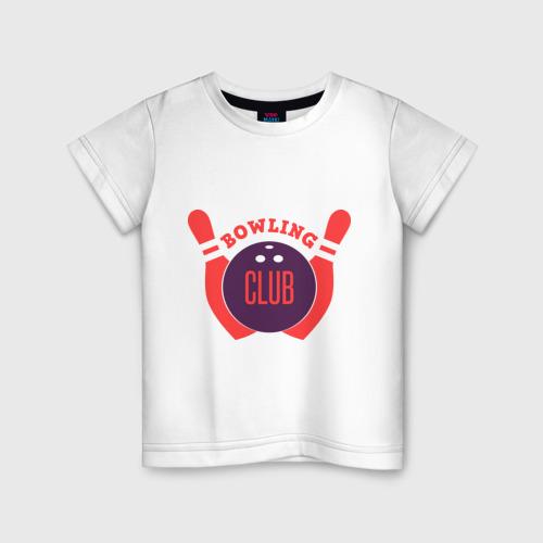Детская футболка хлопок Боулинг
