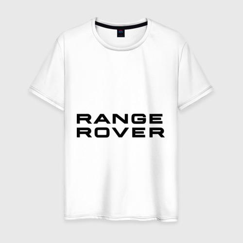 Мужская футболка хлопок Range Rover