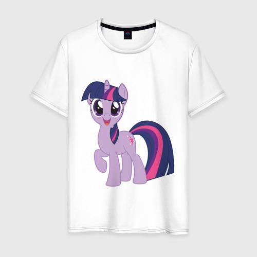 Мужская футболка хлопок Пони Сумеречная Искорка
