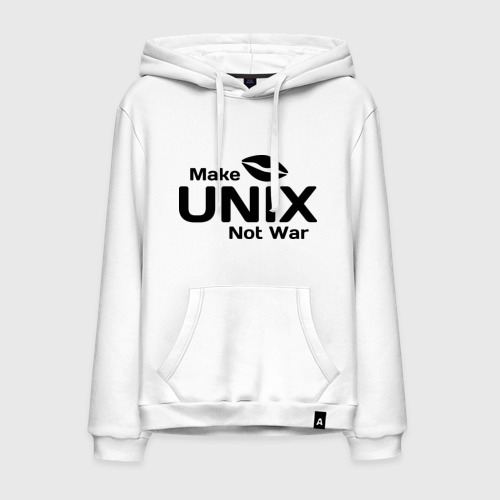 Мужская толстовка хлопок Make unix, not war
