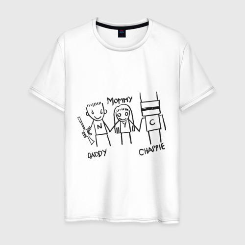 Мужская футболка хлопок Семья