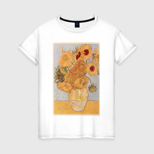 Женская футболка хлопок ArtJersey