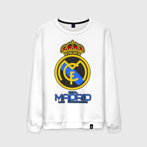 Мужской свитшот хлопок Реал Мадрид