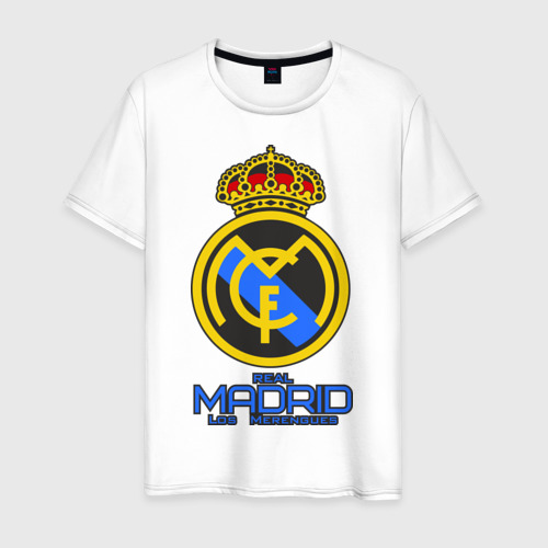 Мужская футболка хлопок Реал Мадрид
