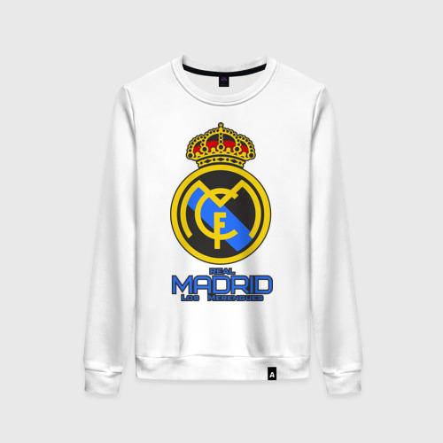 Женский свитшот хлопок Реал Мадрид