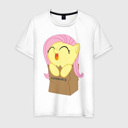 Мужская футболка хлопок Cute Fluttershy
