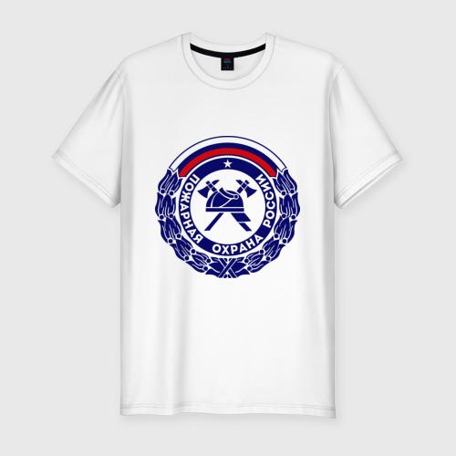 Мужская футболка хлопок Slim Пожарная охрана России