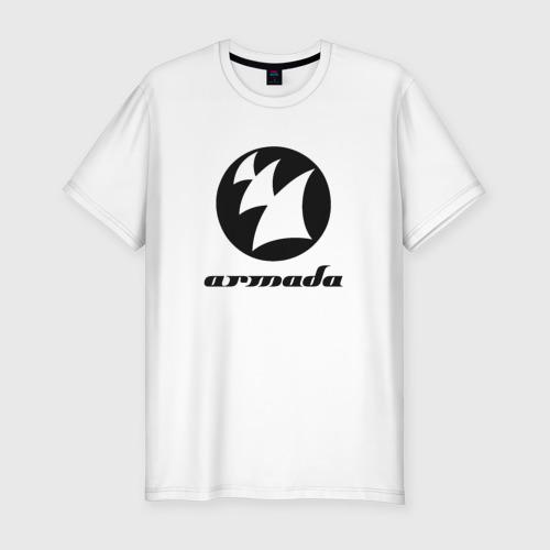 Мужская футболка хлопок Slim Armada Music