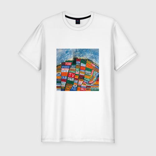 Мужская футболка хлопок Slim Radiohead