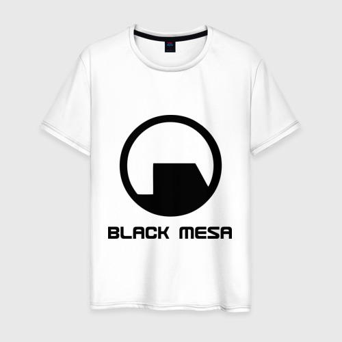 Мужская футболка хлопок Black mesa