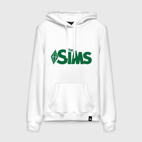 Женская толстовка хлопок Sims