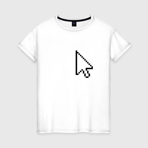 Женская футболка хлопок Курсор