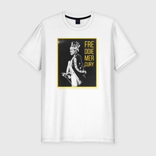 Мужская футболка хлопок Slim Фредди Меркьюри