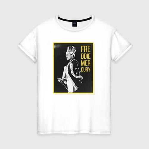 Женская футболка хлопок Фредди Меркьюри