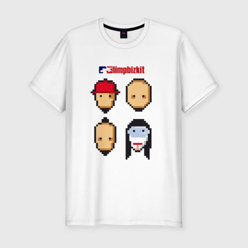 Мужская футболка хлопок Slim Limp Bizkit
