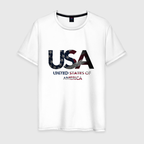 Мужская футболка хлопок USA