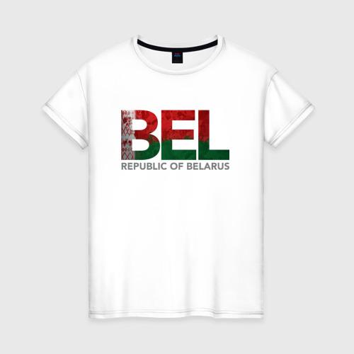 Женская футболка хлопок Беларусь
