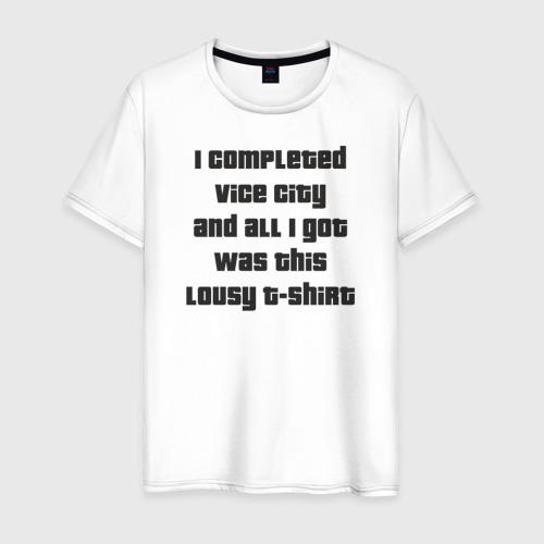 Мужская футболка хлопок GTA Vice City